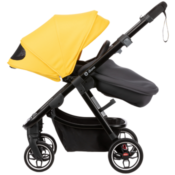 Excurze complete full size stroller [Yellow Sulphur]