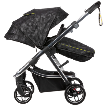 Diono Excurze Luxe Baby, Infant, Toddler Stroller [Black Camo]