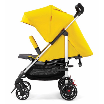 Lightweight Umbrella Stroller With Canopy [Yellow Sulphur]