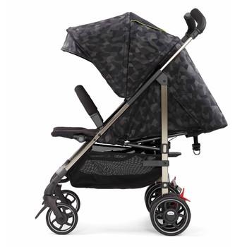 Lightweight Umbrella Stroller With Canopy [Black Camo]