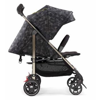 Adjustable Canopy [Black Camo]