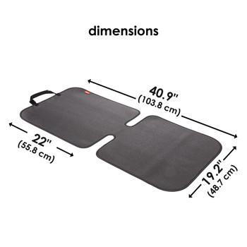 Diono Grip It Car Seat Protector - dimensions [Black]