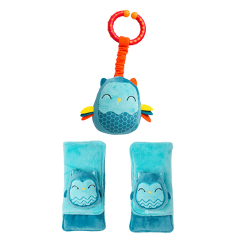 Soft wraps® harness pads and multi-sensory toy [Owl]