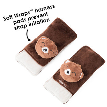 Soft wraps® harness pads help to prevent strap irritation [Bear]