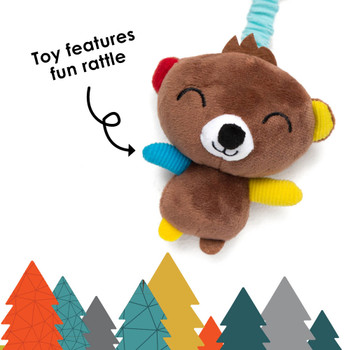 Sensory Toy features fun rattle [Bear]