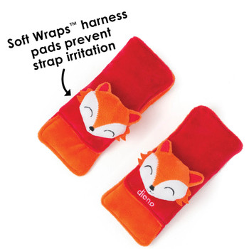 Soft wraps® harness pads help to prevent strap irritation [Fox]