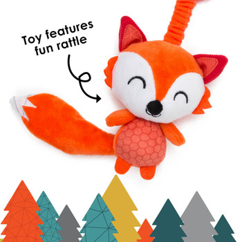 Sensory Toy features fun rattle [Fox]