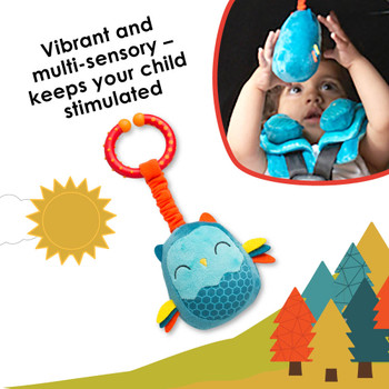 Vibrant and multi-sensory toy keeps your child stimulated on the go [Owl]