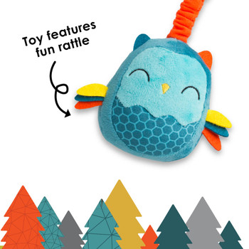 Sensory Toy features fun rattle [Owl]