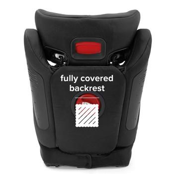 Fully covered backrest [Black]