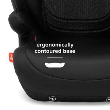 Ergonomically contoured base [Black]