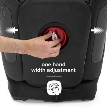 One hand width adjustment [Black]