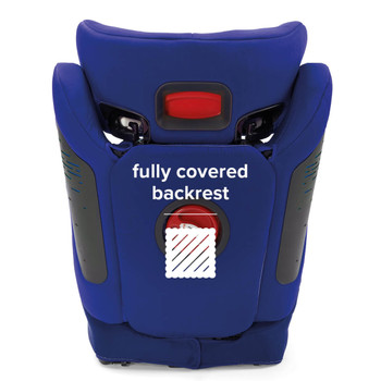 Fully covered backrest [Blue]