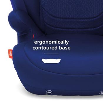 Ergonomically contoured base [Blue]