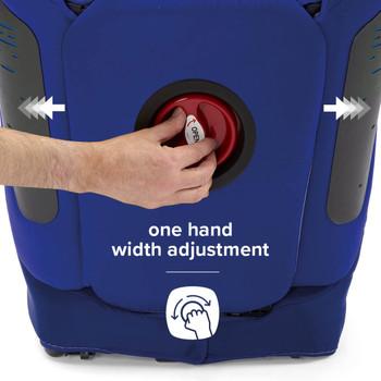 One hand width adjustment [Blue]