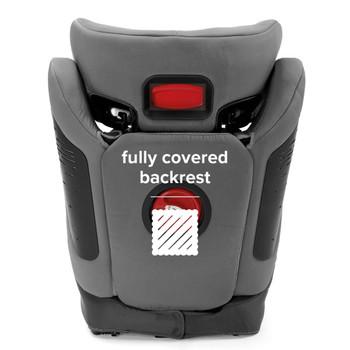 Fully covered backrest [Gray Dark]
