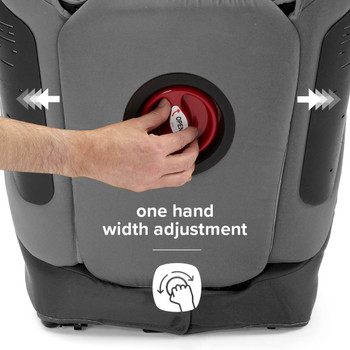 One hand width adjustment [Gray Dark]