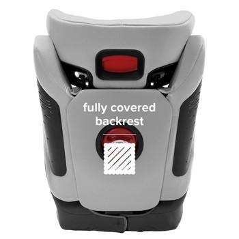 Fully covered backrest [Gray Light]