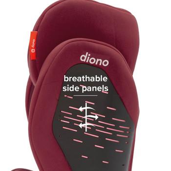 Breathable side panels [Plum]