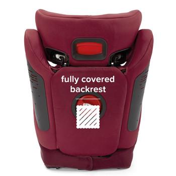 Fully covered backrest [Plum]