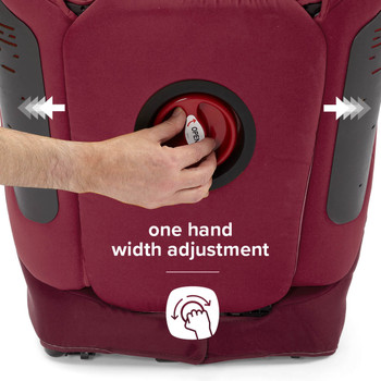 One hand width adjustment [Plum]