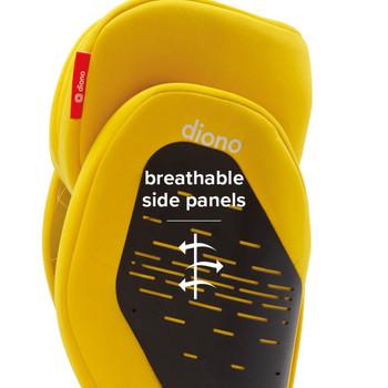 Breathable side panels [Yellow Sulphur]