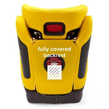 Fully covered backrest [Yellow Sulphur]