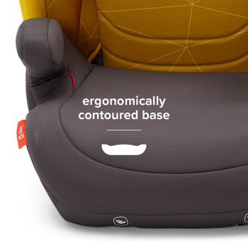 Ergonomically contoured base [Yellow Sulphur]