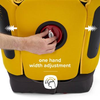 One hand width adjustment [Yellow Sulphur]