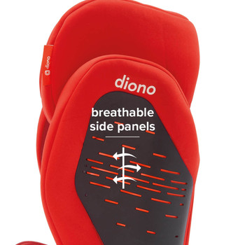 Breathable side panels [Red]