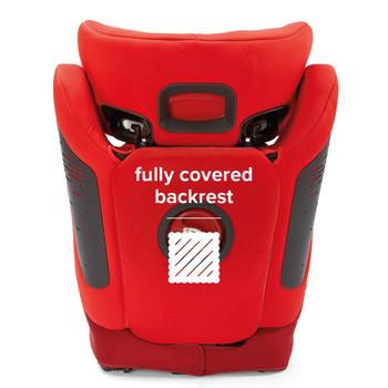 Fully covered backrest [Red]