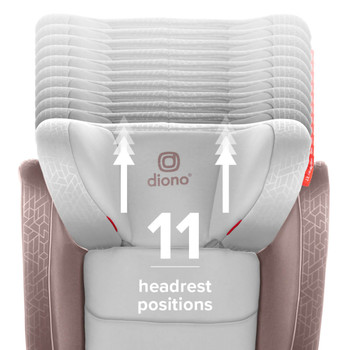 11 headrest positions [Gray Oyster]