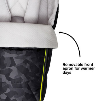 Removable front apron fro warmer days  [Black Camo]