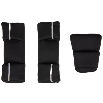 Replacement Pad Kit for the Radian all-in-one convertible car seat (2020 Radian 3QXT/QX) [Black Jet]