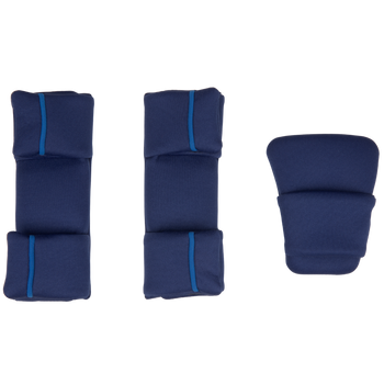 Replacement Pad Kit for the Radian all-in-one convertible car seat (2020 Radian 3QXT/QX) [Blue Sky]