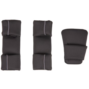 Replacement Pad Kit for the Radian all-in-one convertible car seat (2020 Radian 3QXT/QX) [Gray Slate]