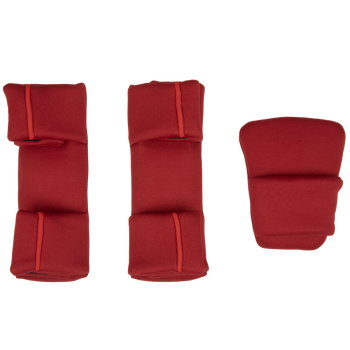 Replacement Pad Kit for the Radian all-in-one convertible car seat (2020 Radian 3QXT/QX) [Red Cherry]
