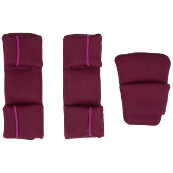 Replacement Pad Kit for the Radian all-in-one convertible car seat (2020 Radian 3QXT/QX) [Purple Plum]