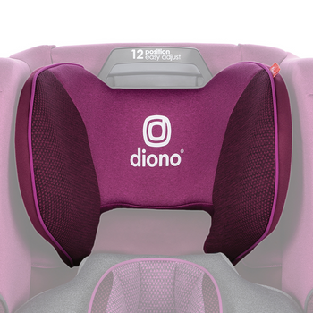Replacement headrest cover for the Radian all-in-one convertible car seat [Purple Plum]