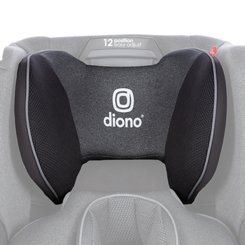 Replacement headrest cover for the Radian all-in-one convertible car seat [Gray Slate]