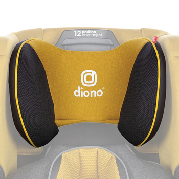 Replacement headrest cover for the Radian all-in-one convertible car seat [Yellow Mineral]