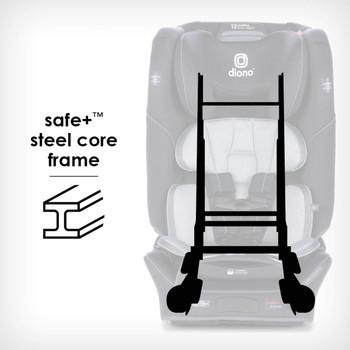 Safe+® Steel core frame [Black Jet]
