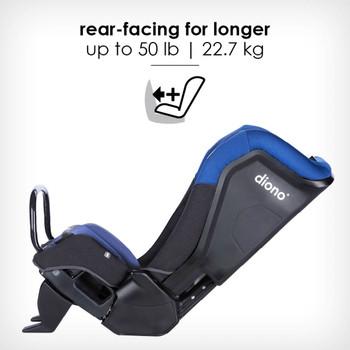 rear-facing for longer up to 22.7 kg [Blue Sky]