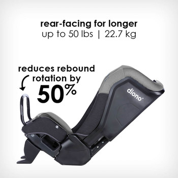 anti-rebound bar reduces rebound rotation by 50% [Gray Slate]