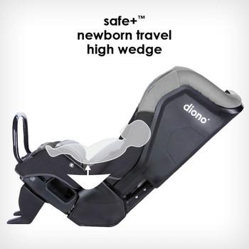 Newborn high travel wedge [Gray Slate]