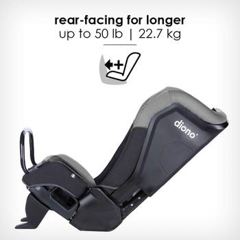 rear-facing for longer up to 22.7 kg [Gray Slate]