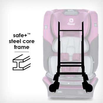 Safe+® Steel core frame [Purple Plum]