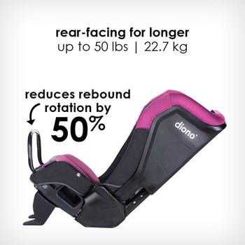 anti-rebound bar reduces rebound rotation by 50% [Purple Plum]