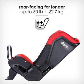 rear-facing for longer up to 22.7 kg [Red Cherry]
