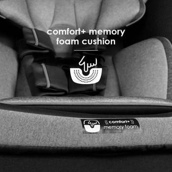 Comfort+ memory foam cushion [Gray Slate]